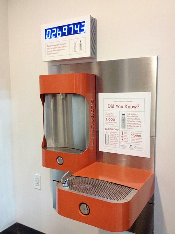 UX design in real life: Image of multi purpose water dispenser