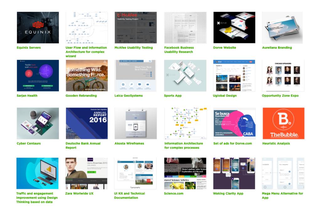 design agency portfolio