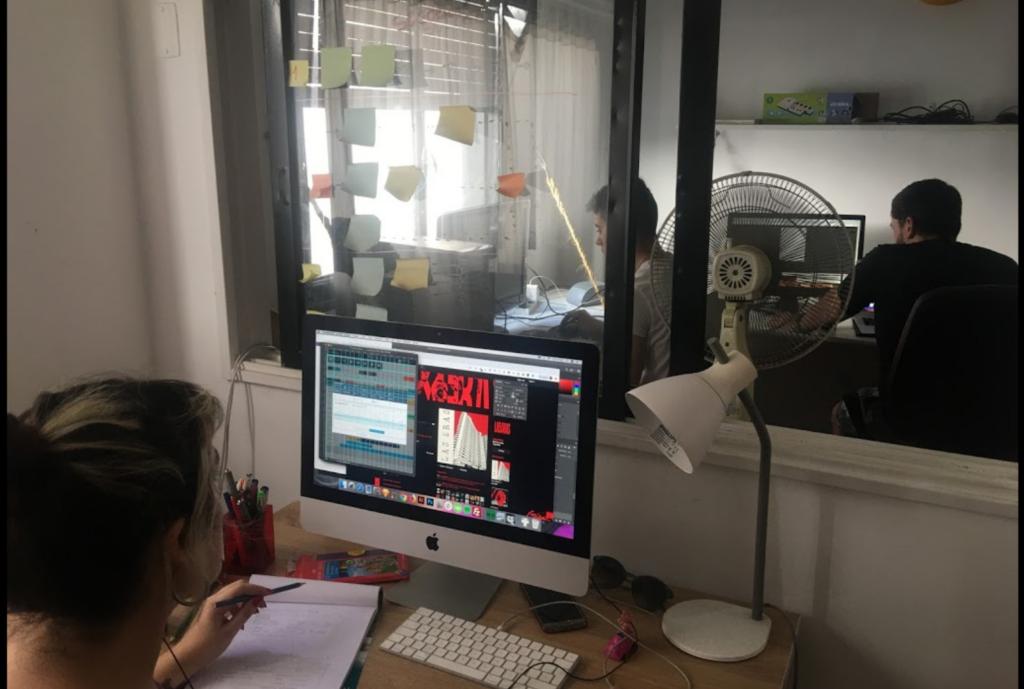 web design firm at work