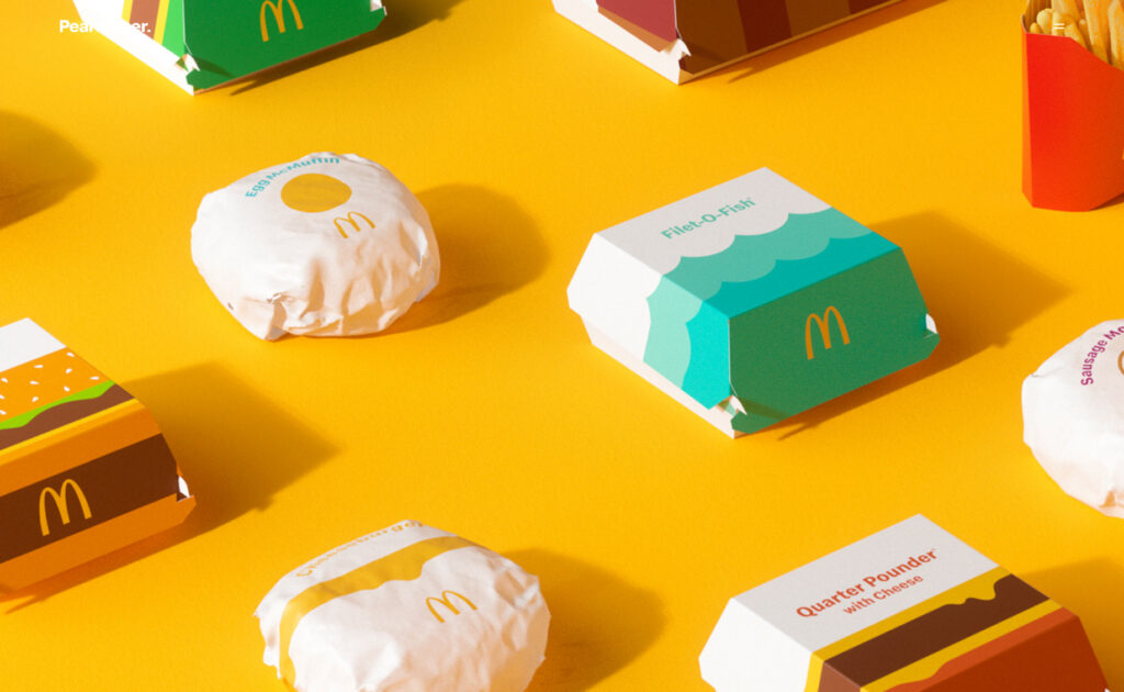 McDonalds brand redesign