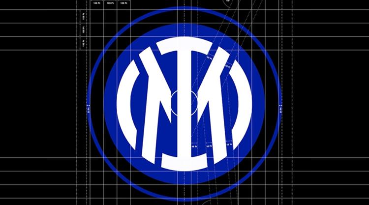 Inter Milan 2021 new logo construction