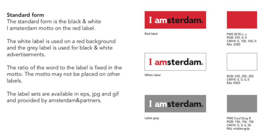 Amsterdam Brand Manual