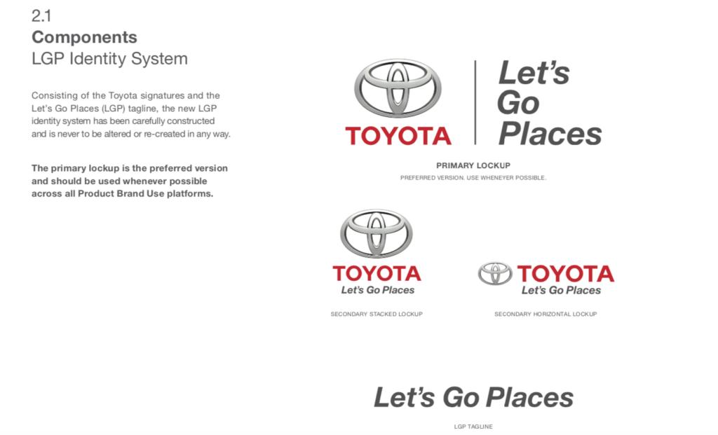 Toyota Brand Guide
