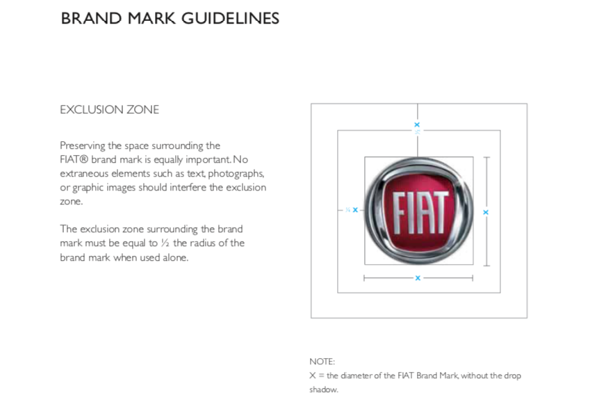 Fiat Brand Manual / Cars branding book