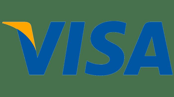 VISA logo from 2006 to 2014