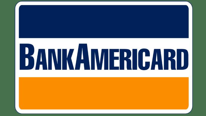 VISA original logo as BankAmericard