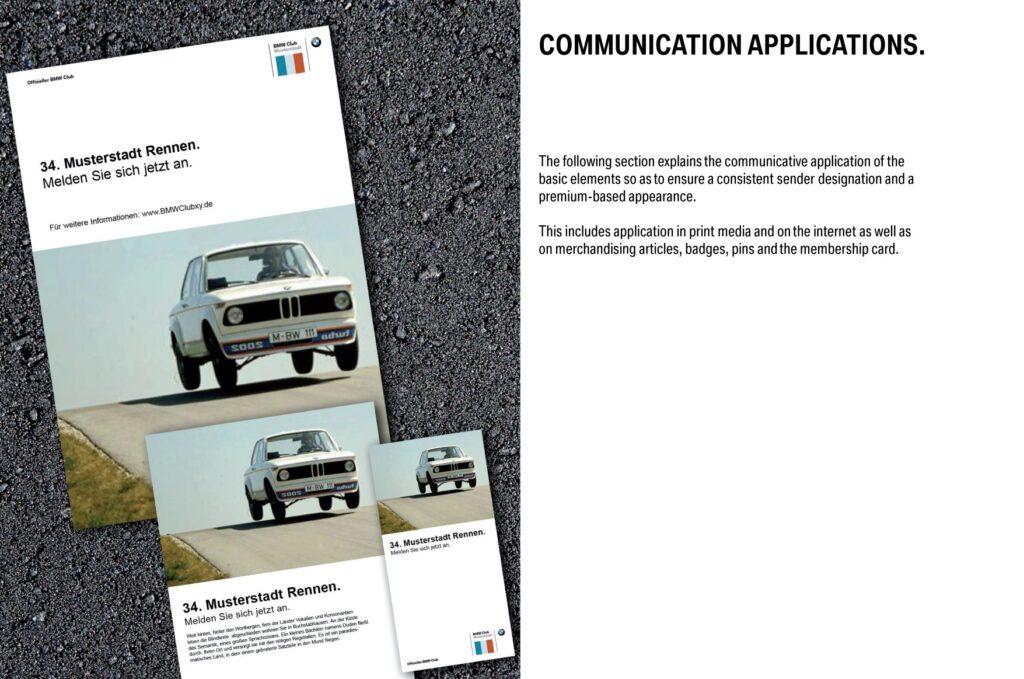 Car identity guideñines: BMW brand identity guidelines