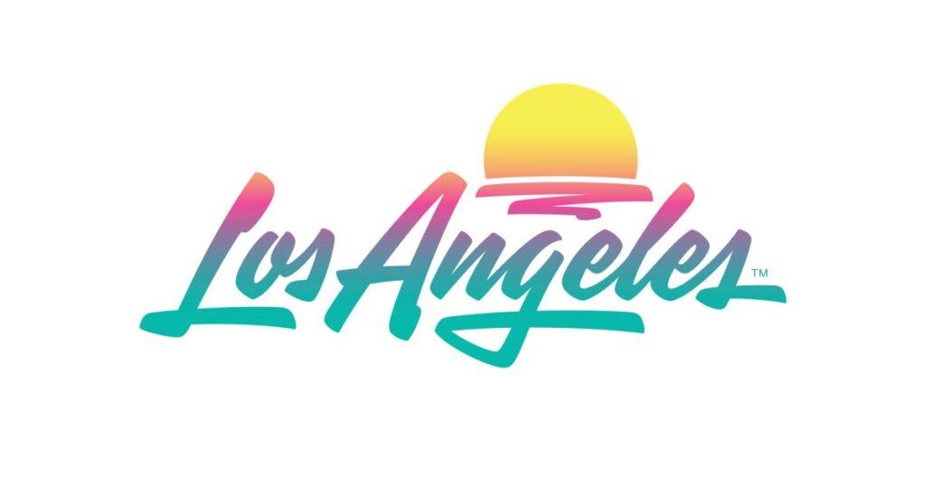 Los Angeles tourism logo after rebranding