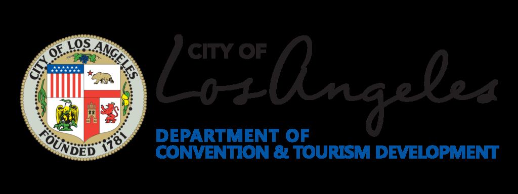 Los Angeles tourism original logo