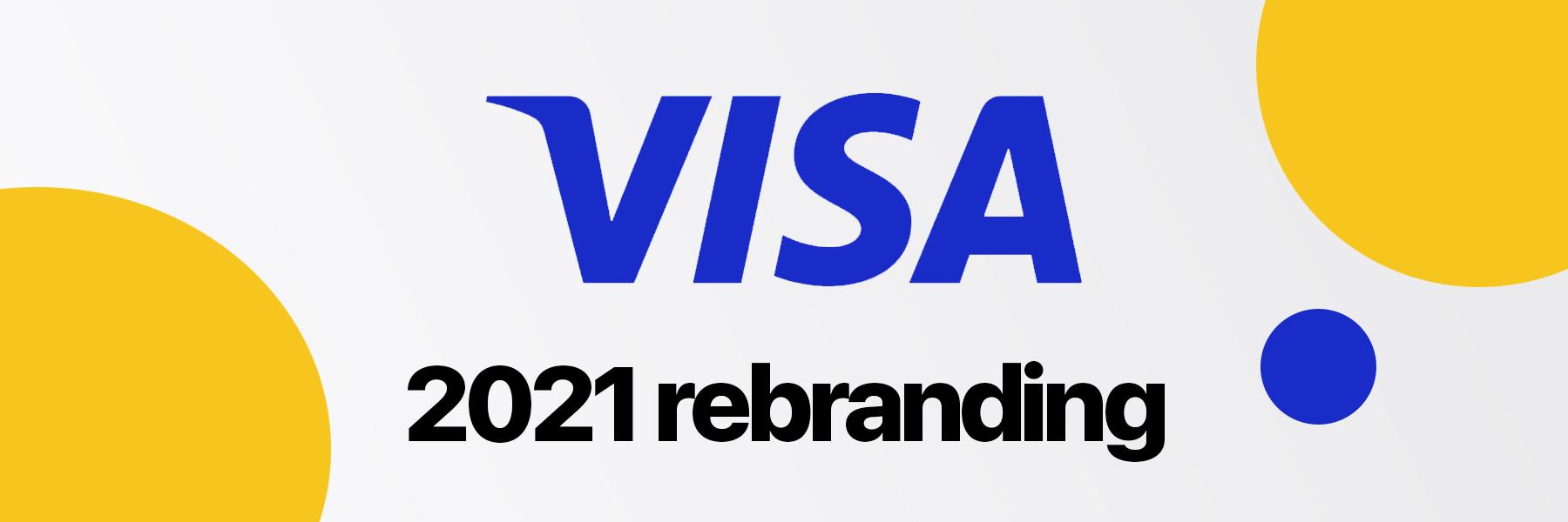 New Visa logo in 6? Well, kind of Dorve