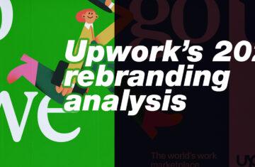 Upwork 2021 rebranding analysis cover